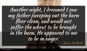 Joanna Southcott quote : Another night I dreamed ...