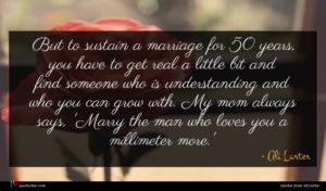 Ali Larter quote : But to sustain a ...