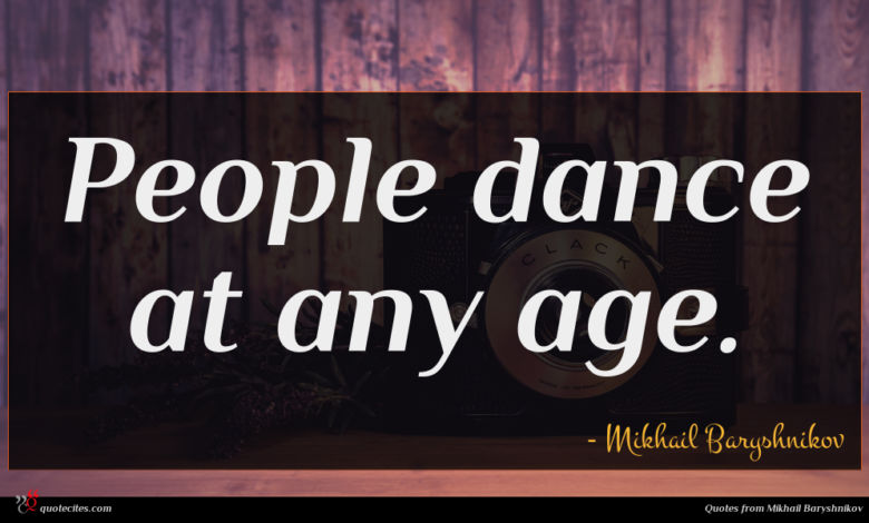 People dance at any age.