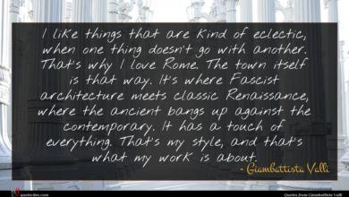 Photo of Giambattista Valli quote : I like things that …