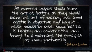 Photo of Ask Ann Landers quote : All married couples should …