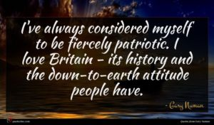 Gary Numan quote : I've always considered myself ...