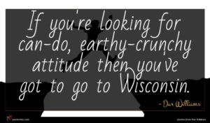 Dar Williams quote : If you're looking for ...