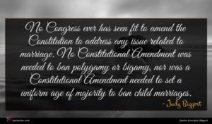 Judy Biggert quote : No Congress ever has ...
