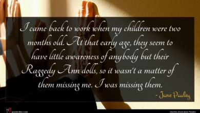 Photo of Jane Pauley quote : I came back to …