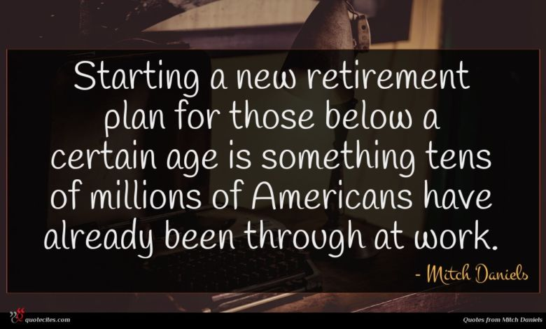 Starting a new retirement plan for those below a certain age is something tens of millions of Americans have already been through at work.