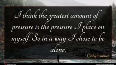 Photo of Cathy Freeman quote : I think the greatest …