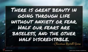 Christian Nestell Bovee quote : There is great beauty ...