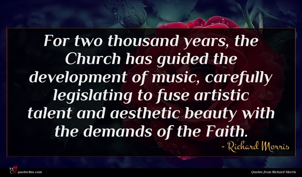 For two thousand years, the Church has guided the development of music, carefully legislating to fuse artistic talent and aesthetic beauty with the demands of the Faith.