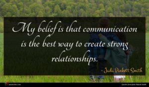 Jada Pinkett Smith quote : My belief is that ...