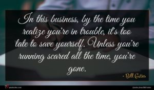 Bill Gates quote : In this business by ...