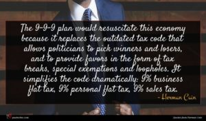 Herman Cain quote : The - - plan ...