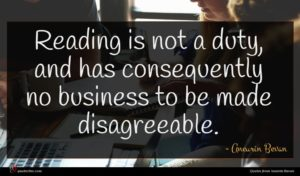 Aneurin Bevan quote : Reading is not a ...