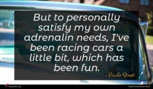 Picabo Street quote : But to personally satisfy ...