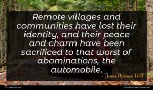 James Norman Hall quote : Remote villages and communities ...