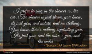American Idol (season 10)#Finalists quote : I prefer to sing ...