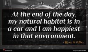 María de Villota quote : At the end of ...