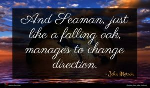 John Motson quote : And Seaman just like ...