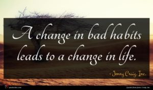 Jenny Craig, Inc. quote : A change in bad ...