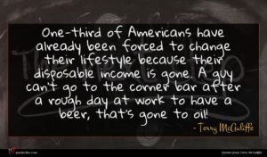 Terry McAuliffe quote : One-third of Americans have ...