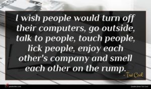 Tré Cool quote : I wish people would ...