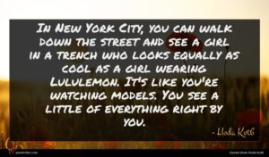 Hoda Kotb quote : In New York City ...