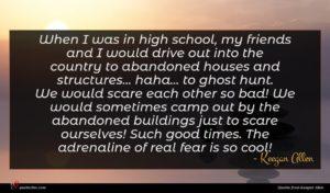 Keegan Allen quote : When I was in ...