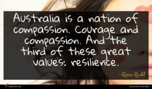 Kevin Rudd quote : Australia is a nation ...