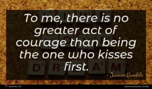 Janeane Garofalo quote : To me there is ...