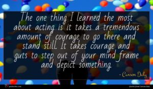 Carson Daly quote : The one thing I ...