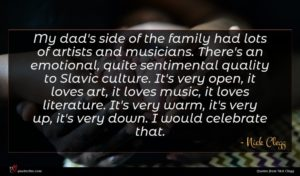 Nick Clegg quote : My dad's side of ...