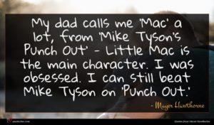 Mayer Hawthorne quote : My dad calls me ...