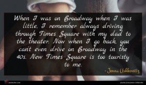 Jenna Ushkowitz quote : When I was on ...