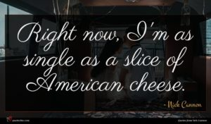 Nick Cannon quote : Right now I'm as ...