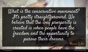 Marco Rubio quote : What is the conservative ...