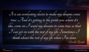 Picabo Street quote : It is an everlasting ...
