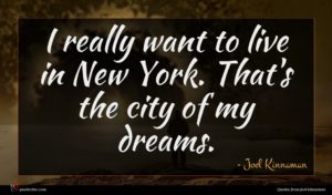 Joel Kinnaman quote : I really want to ...
