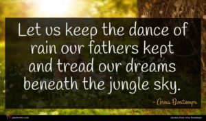 Arna Bontemps quote : Let us keep the ...