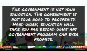 Mia Love quote : The government is not ...