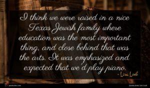 Lisa Loeb quote : I think we were ...