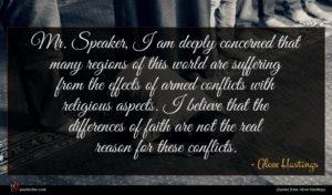 Alcee Hastings quote : Mr Speaker I am ...