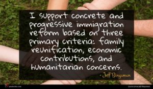Jeff Bingaman quote : I support concrete and ...