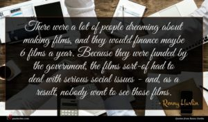 Renny Harlin quote : There were a lot ...
