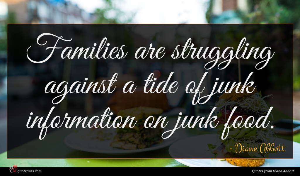 Families are struggling against a tide of junk information on junk food.