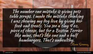 Alison Sweeney quote : The number one mistake ...