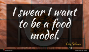 Amy Sedaris quote : I swear I want ...