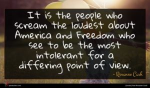 Rosanne Cash quote : It is the people ...