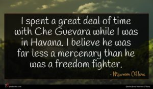 Maureen O'Hara quote : I spent a great ...