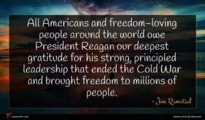 Jim Ramstad quote : All Americans and freedom-loving ...