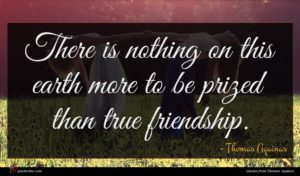 Thomas Aquinas quote : There is nothing on ...